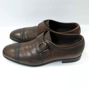 Tod's Mens Oxfords Monk Strap Shoes